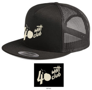 40 Watt Hat Embroidered Gold